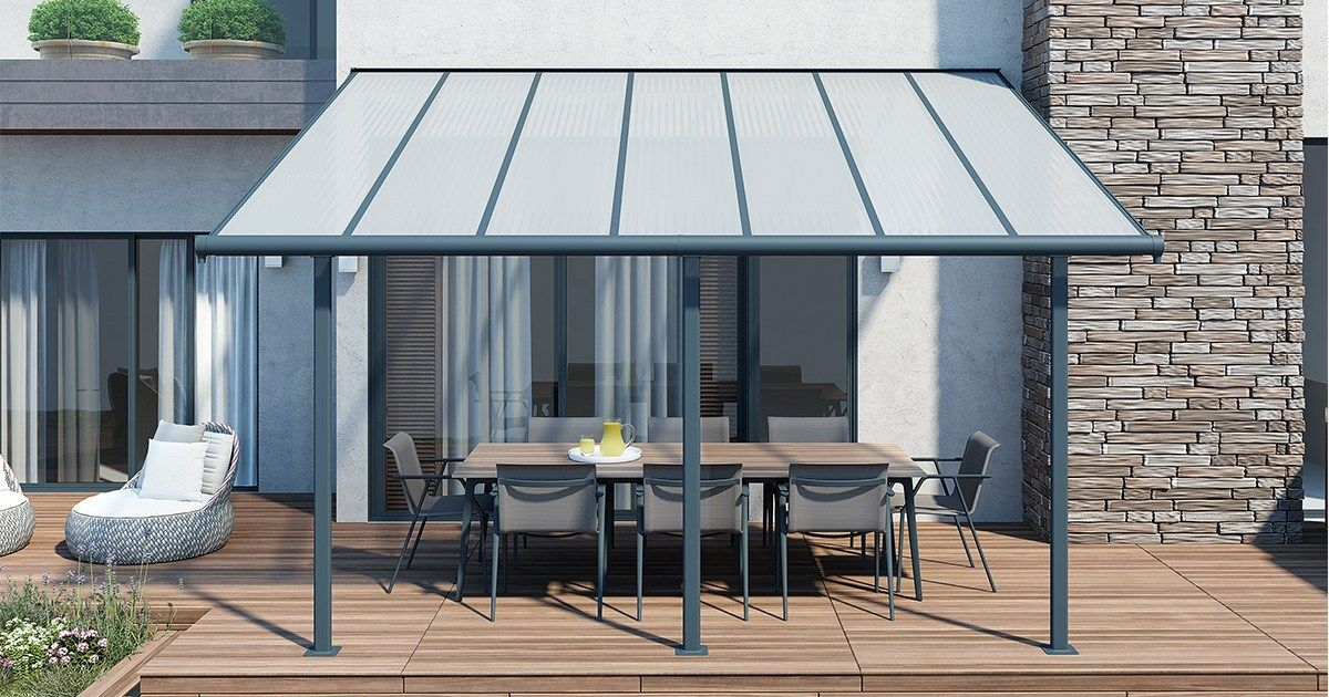 Introducing The Sierra Patio Cover By Palram Covered Patio