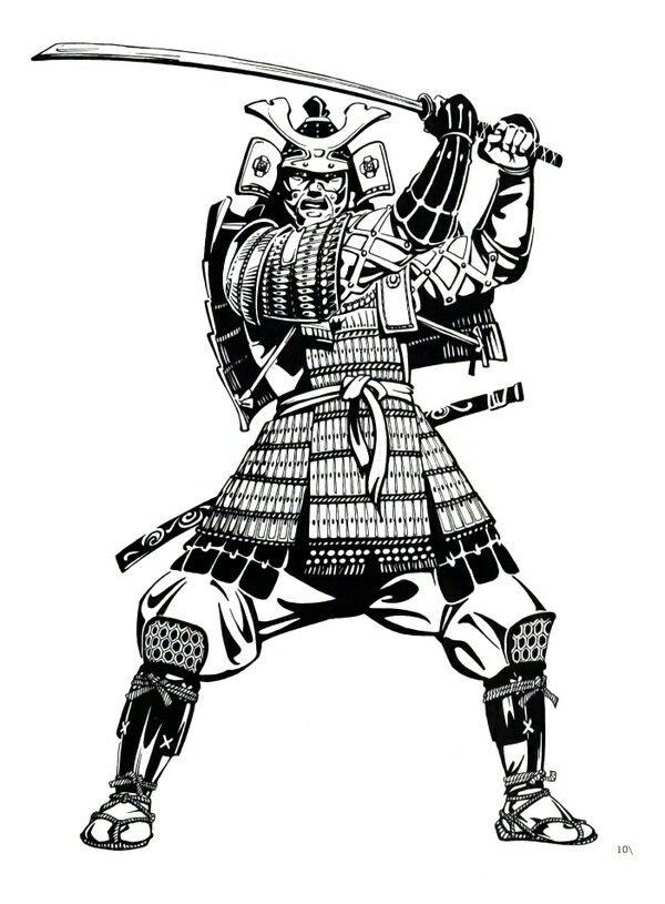 Imagem De Samurai Por Rex Roman Samurai Desenho