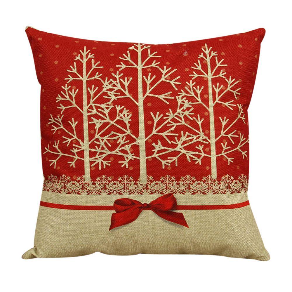 Cuscini Beige Per Divano practical boutique 45*45 cm lovely christmas reindeer