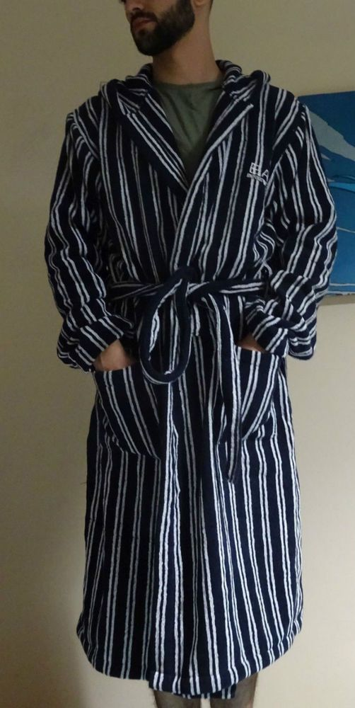 Emporio Armani Men s Bathrobe Bademantel Towel Size: XL | Emporio ...