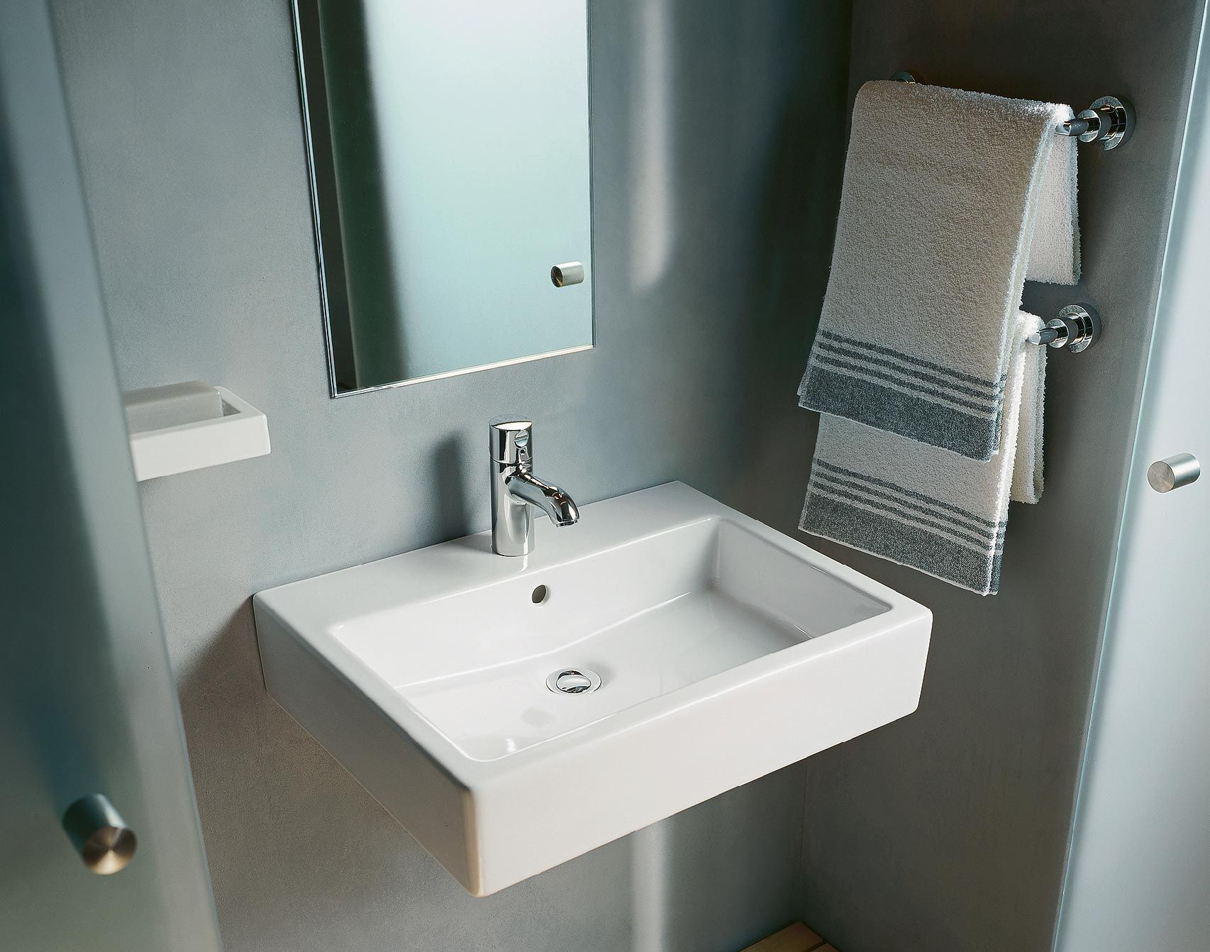 Duravit Waschtisch Vero Air 600 Mm Vero Washbasin Mancaves In 2019 Duravit Bathroom
