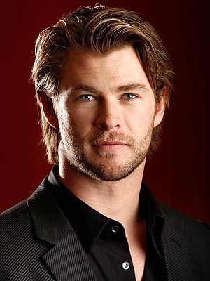 Chris Hemsworth Oh yeah he just gets better