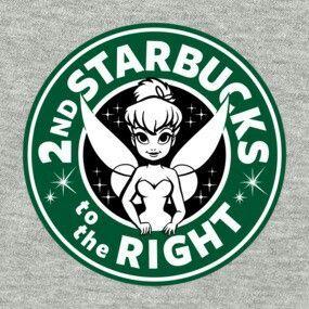 Tinkerbell Starbucks
