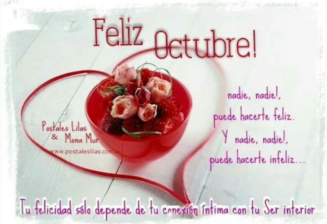 Bienvenido Octubre...