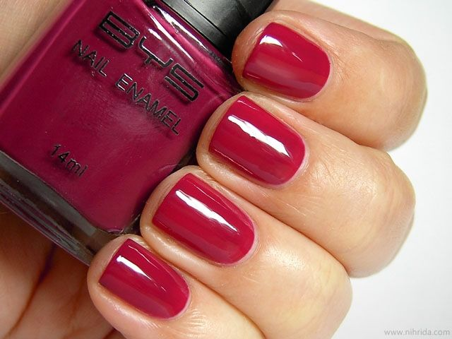 bys berry delicious nails cute
