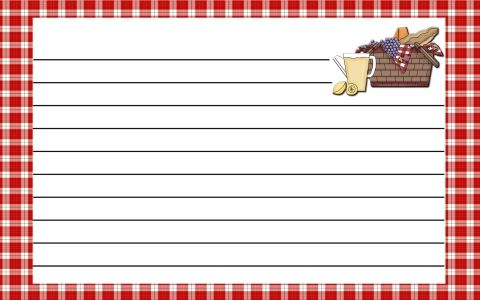 Free printable recipe cards Lots to choose from Sewing And - recipe card