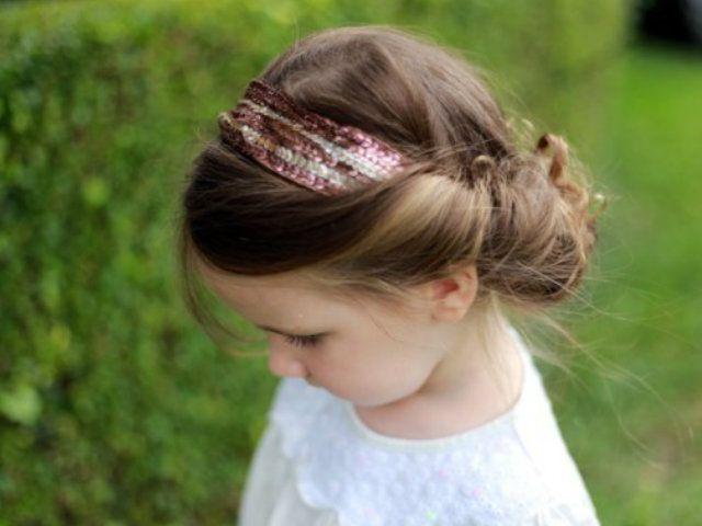 Recogidos fáciles para niñas #peinados #niña #primavera #verano - peinados de nia faciles de hacer