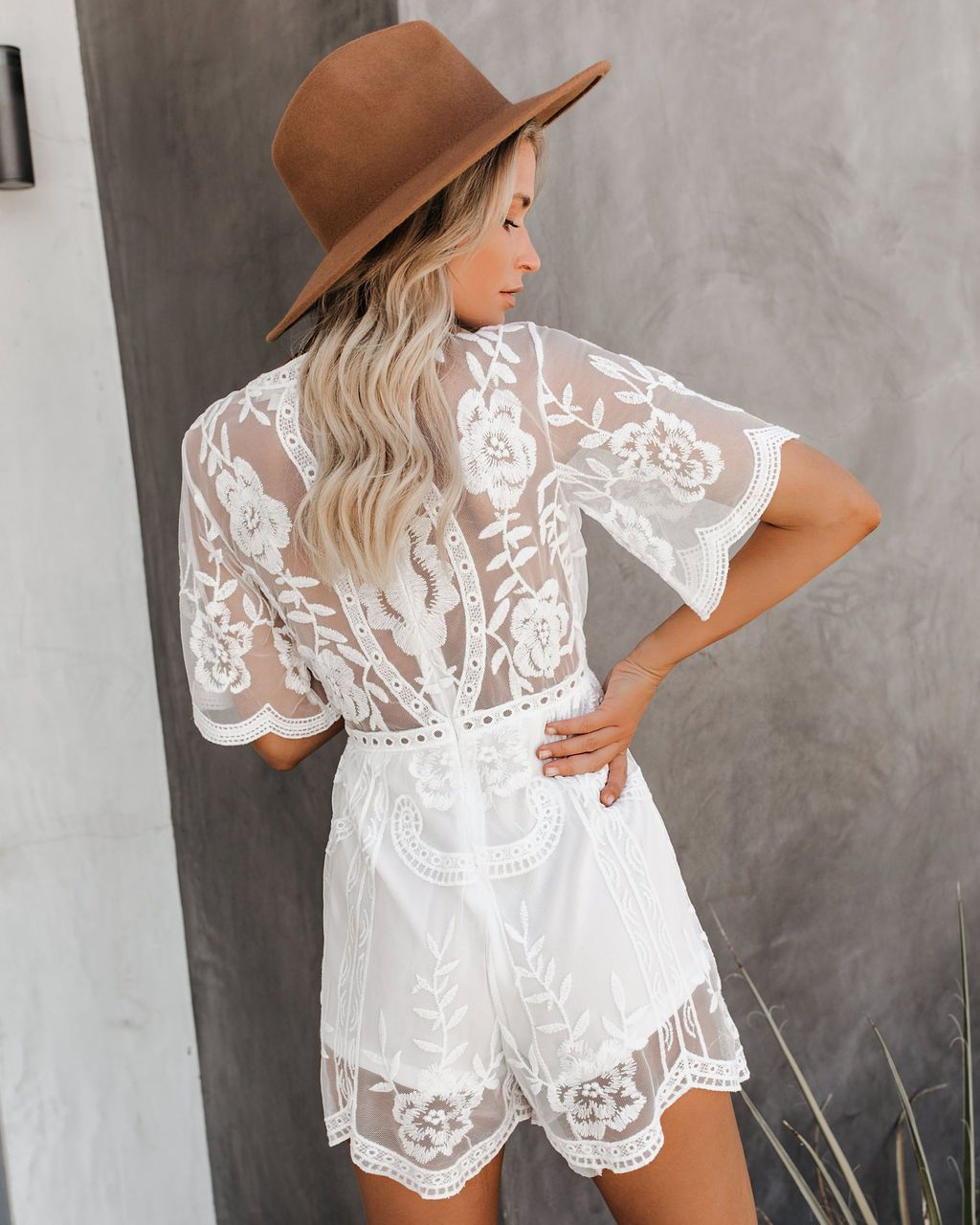 Hera Lace Romper White Vici Lace Romper Lace Jumpsuit With Sleeves [ 1280 x 1024 Pixel ]