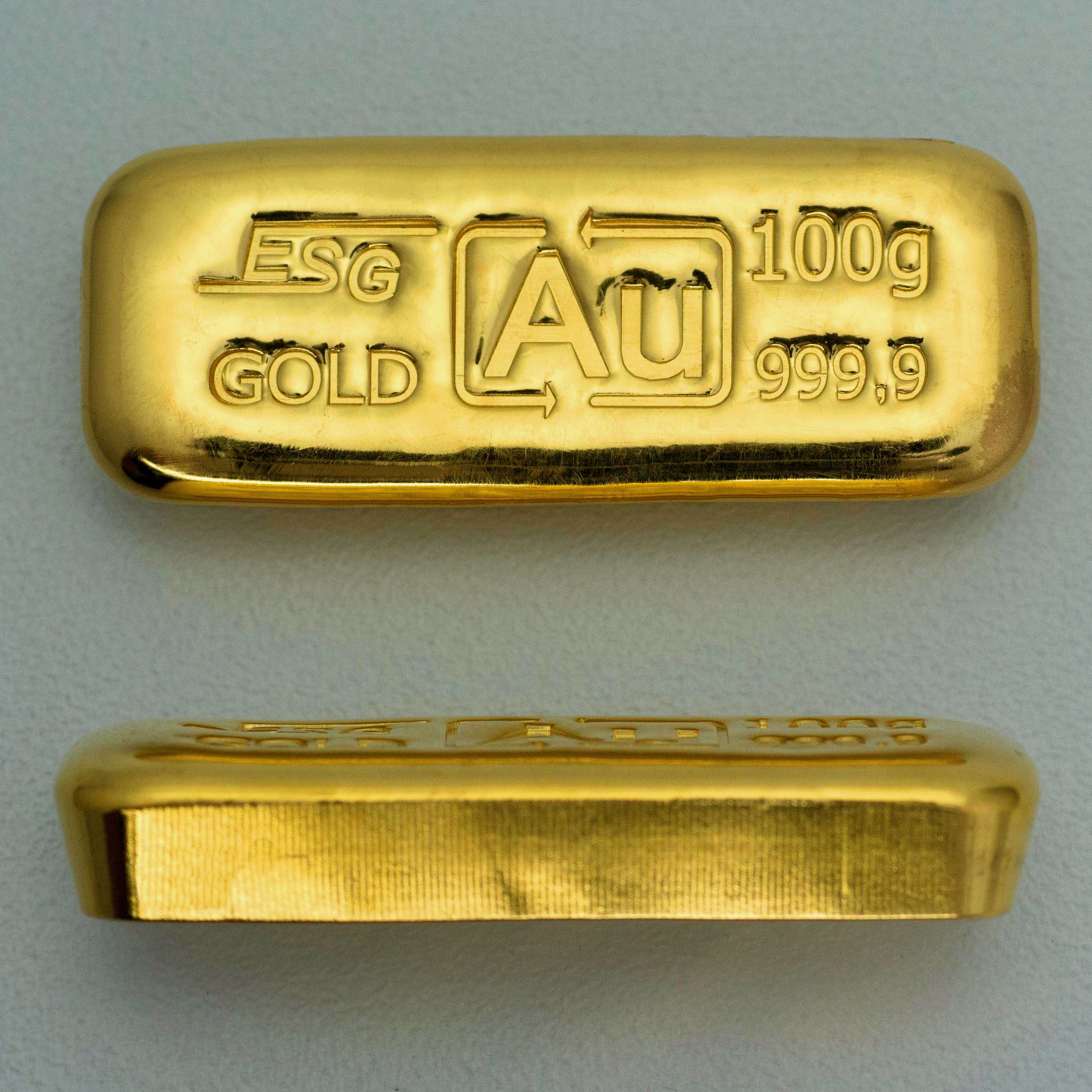 100g Goldlaib Sargbarren Gold Money Gold Gold Bar