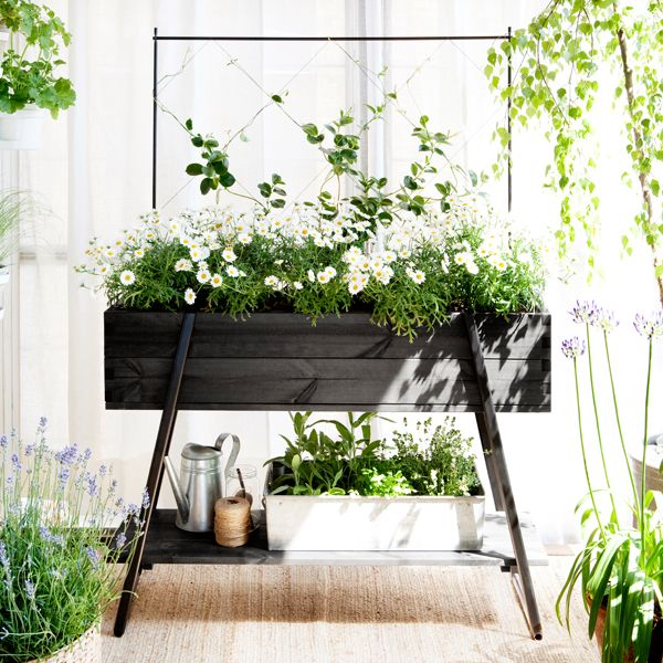 Kekkilä Raised grow box, black | Gardening | Outdoor | Finnish Design Shop