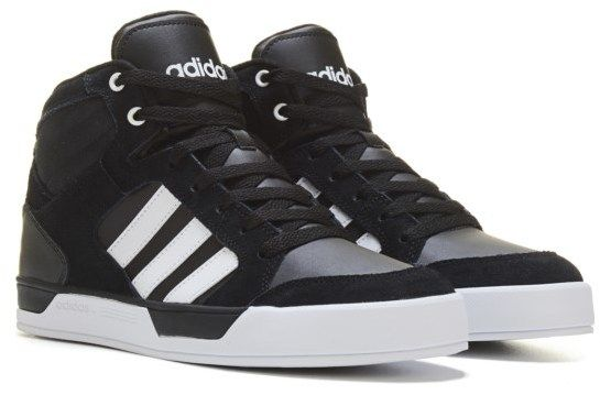 separation shoes 536cd 79959 adidas Mens Neo Raleigh High Top Sneaker