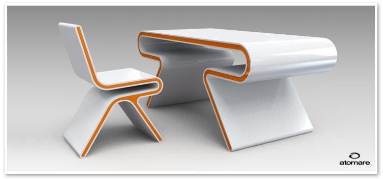 Mobilier Bureau Design Pas Cher Attu Assises design