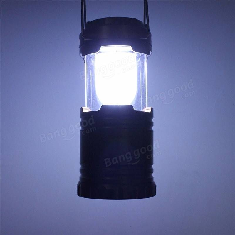 Outdoor rechargeable solar panel camping lantern led tent hanging outdoor rechargeable solar panel camping lantern led tent hanging light aloadofball Image collections