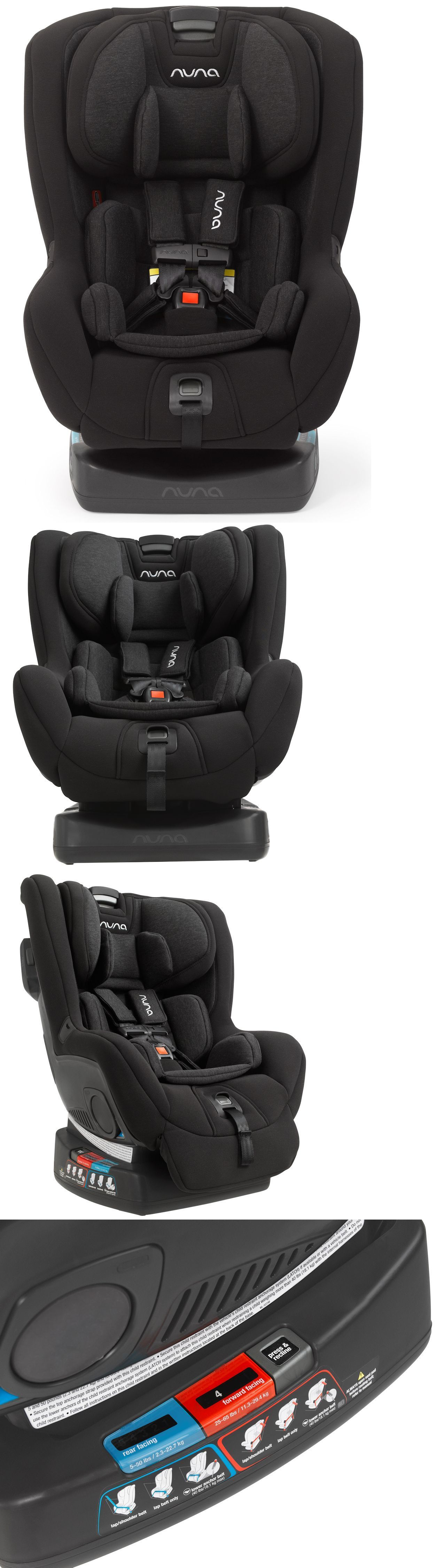 Baby Kid Stuff Nuna Rava Child Safety Convertible Car Seat Caviar New 2016