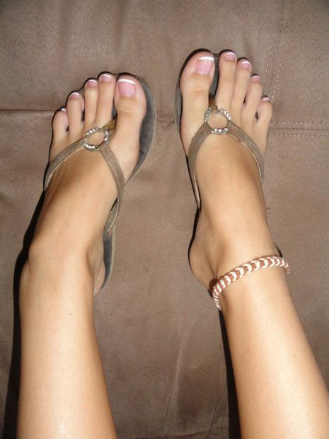 Women sexy toes