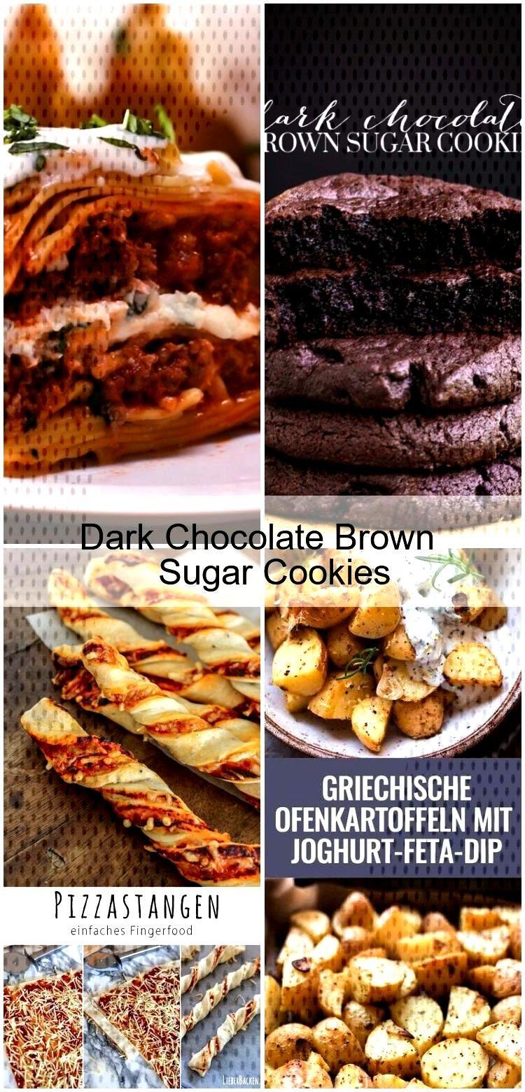 Dark Chocolate Brown Sugar Cookies Dark Chocolate Brown Sugar Cookies,