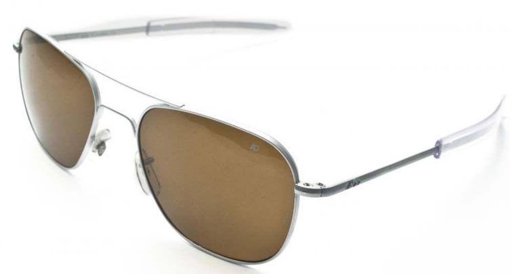 eBay  Sponsored American Optical Original Pilot Bayonet 52 Matte Chrome Cos  Sunglasses 30073 bea11262a