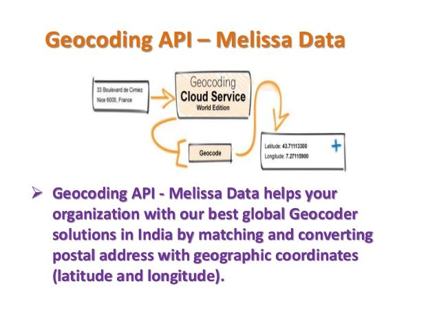 Pin by sunaina on Geocoding API | Melissa Data | Geographic