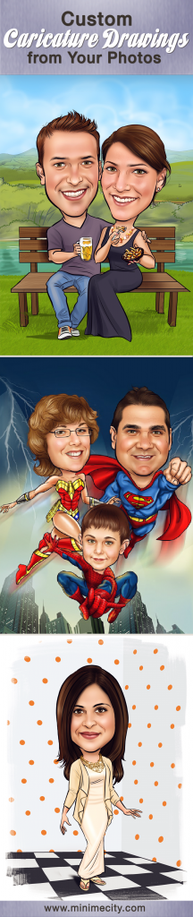 Spice up your Life events with Custom Caricature Drawings!