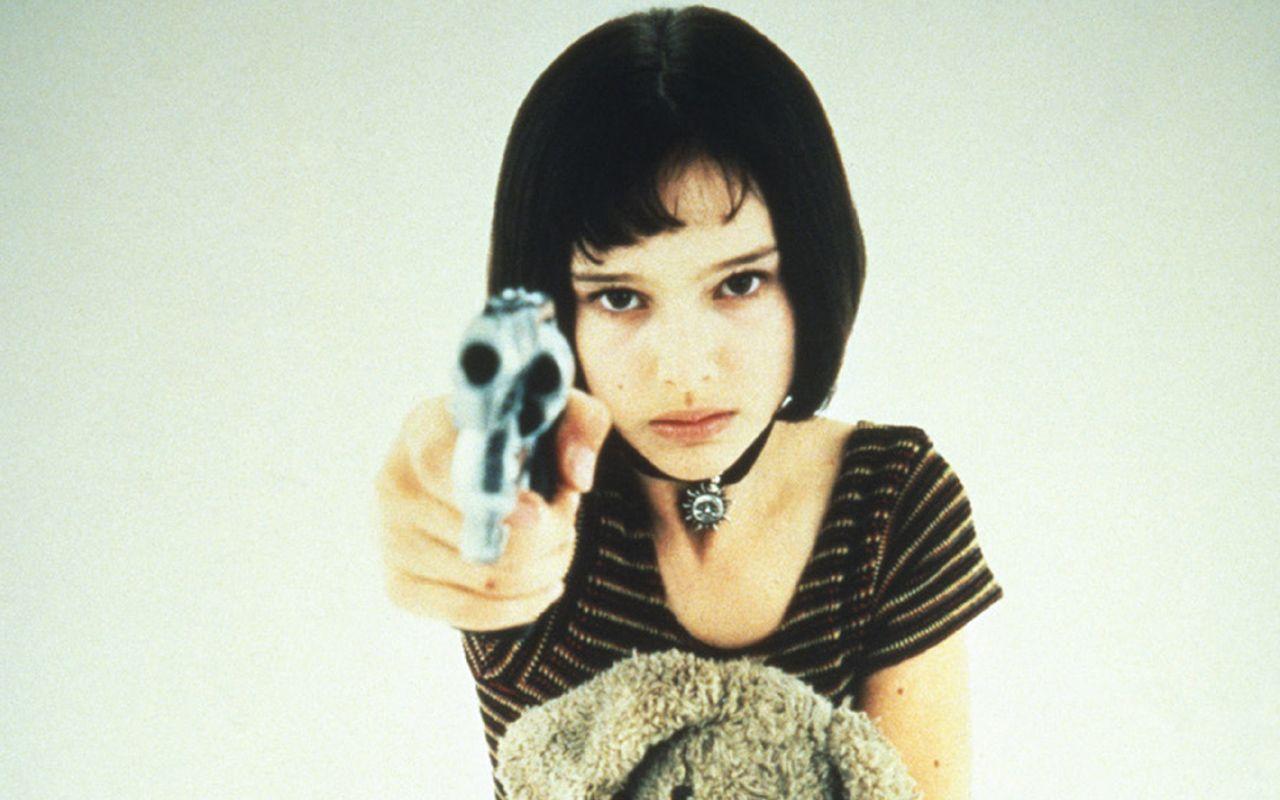 "Natalie Portman as Matilda in ""Leon"" alltime favourite"
