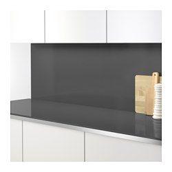 IKEA - RÅHULT, Revêtement mural sur mesure, Protège de la poussière et facilite le ménage.Résiste à la chaleur, à l'eau, à la graisse et aux saletés. Convient pour les murs derrière les plans de travail de cuisine et les tables de cuisson (sauf le gaz).Le revêtement mural est fait sur mesure pour votre cuisine. Il suffit de choisir la longueur (max. 3 m sans les joints) et la hauteur (max. 1,2 m).
