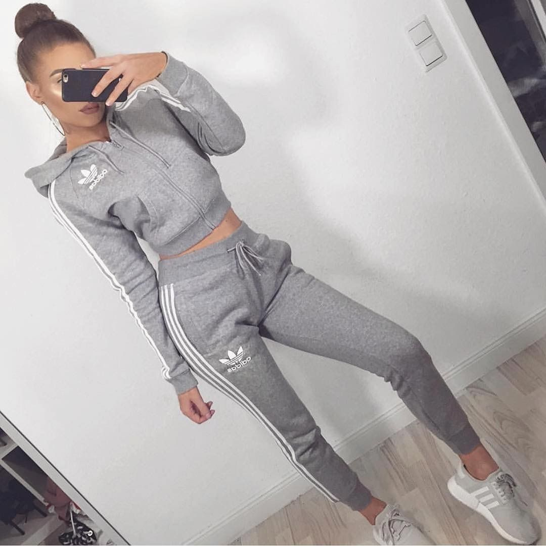 pinterest: @ nadjaaa | Nike outfits, Sporty outfits, Adidas ...