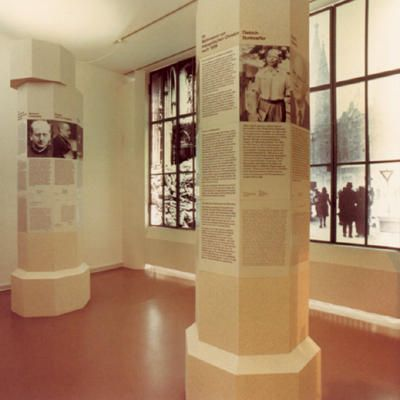 German Resistance Memorial Center - Impressions. The photos show selected topics of the permanent exhibition Resistance to National Socialism.