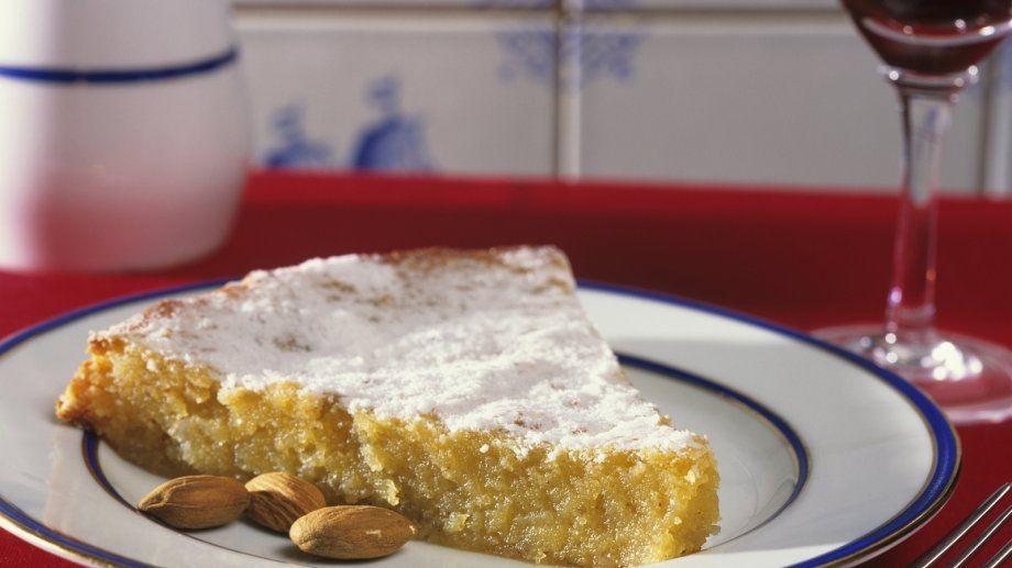 Mandelkuchen Auf Portugiesische Art Rezept Kuchen Pinterest
