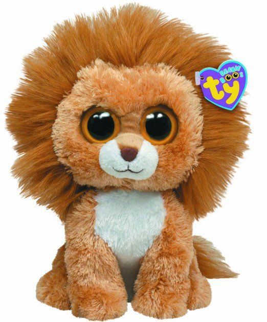 a0aea90ea14 Amazon.com   Ty Beanie Boos Buddy - King the Lion   Plush Animal Toys   Toys    Games