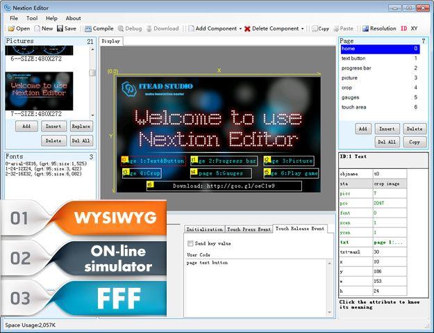 Nextion Display คือ HMI สำหรับ Arduino โดยเฉพาะ ออกแบบมาให้ใช้งาน