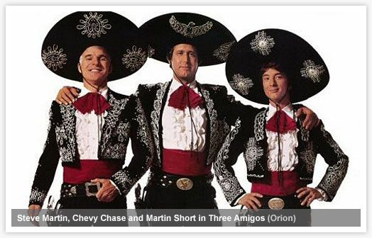 the three amigos a classic