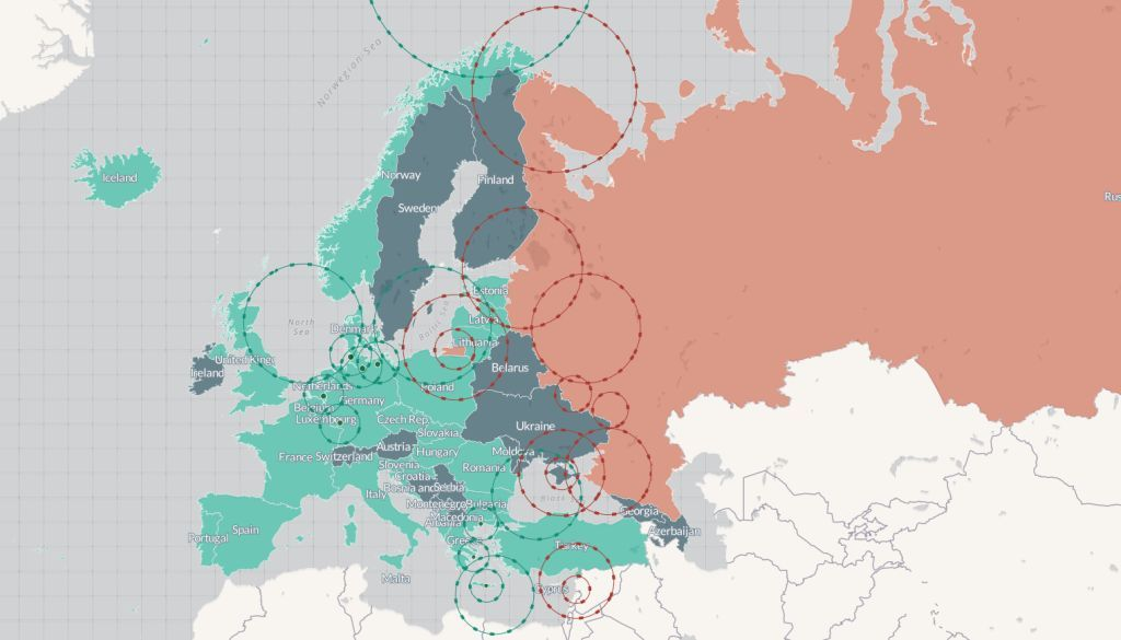 Interaktivna Mapa Totalni Haos Kako Bi Zaista Izgledao Rat Nato
