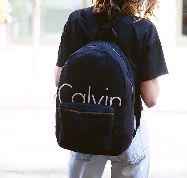 54e9cf2c1f Calvin Klein backpack Klein Backpack, Tote Backpack, Fashion Backpack, My  Calvins, School
