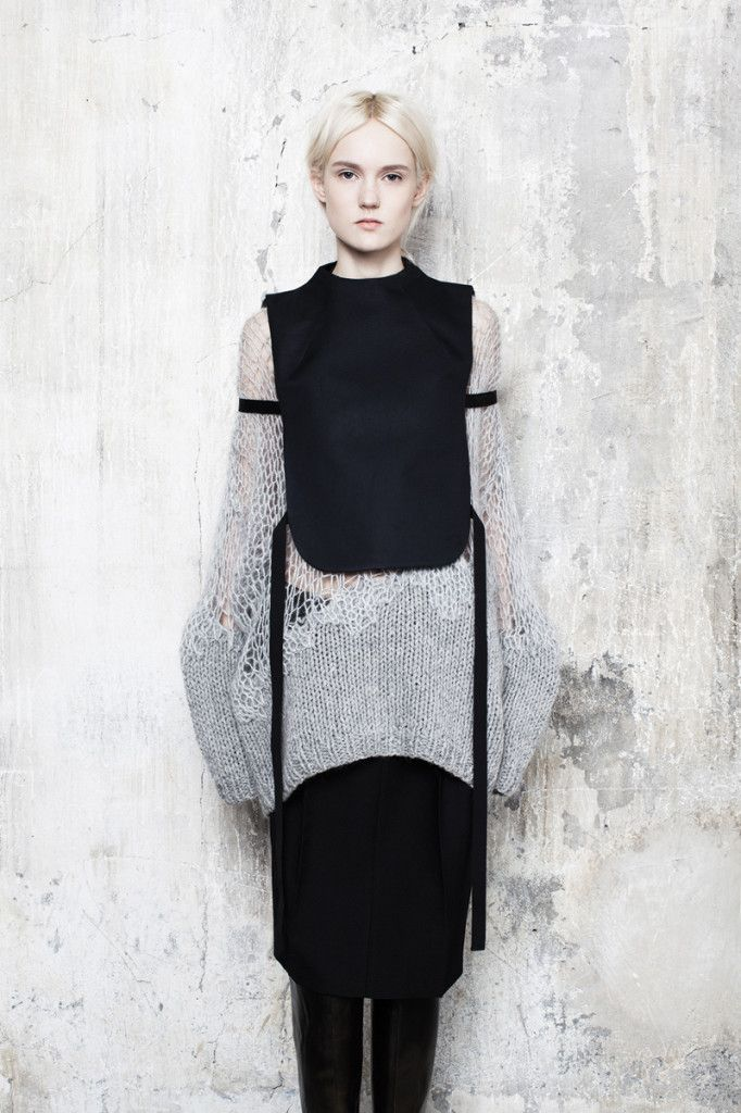 Maison Martin Margiela Knitwear - Pre-Fall 2014, via knitGrandeur