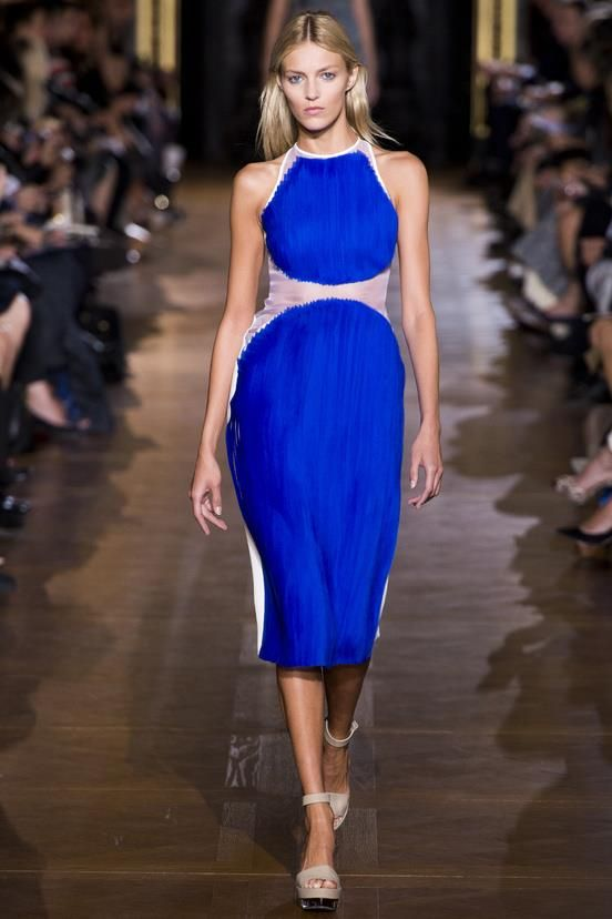 Glam Vibrant Modernism by @StellaMcCartney Spring/Summer 2013