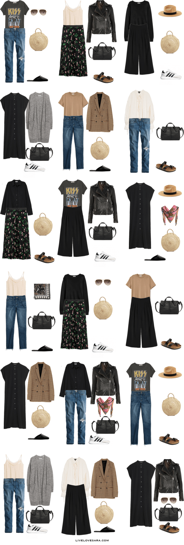 What to Pack for Copenhagen, Denmark Packing Light List | What to pack for Copenhagen | What to Pack for Denmark | Packing Light | Packing List | Travel Light | Travel Wardrobe | Travel Capsule | Capsule | #travelwardrobesummer