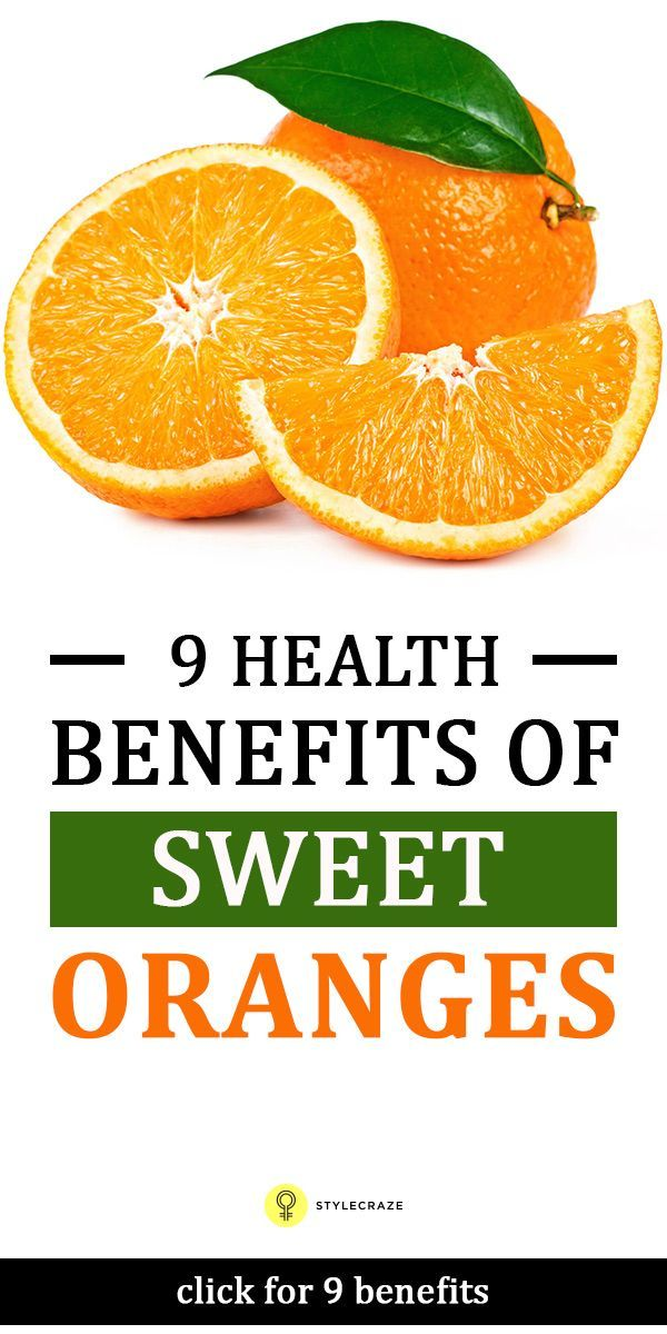 12 Incredible Health Benefits Of Oranges The nutritional benefits of sweet orange is such that it helps you to fight diseases related to heart, skin, obesity and cures various types of ...The nutritional benefits of sweet orange is such that it helps you to fight diseases related to heart, skin, obesity and cures various types of ...