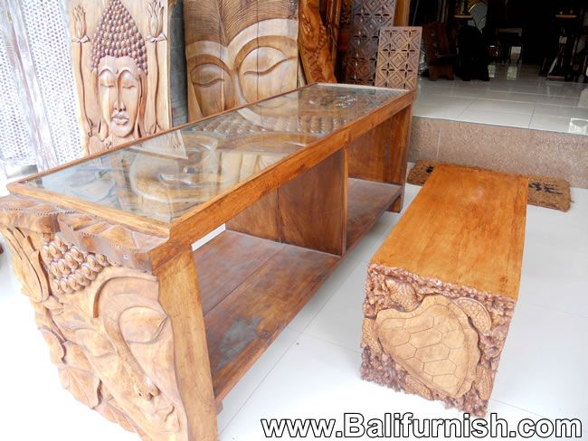 Carved Wood Furniture from Bali Indonesia. http://www ...