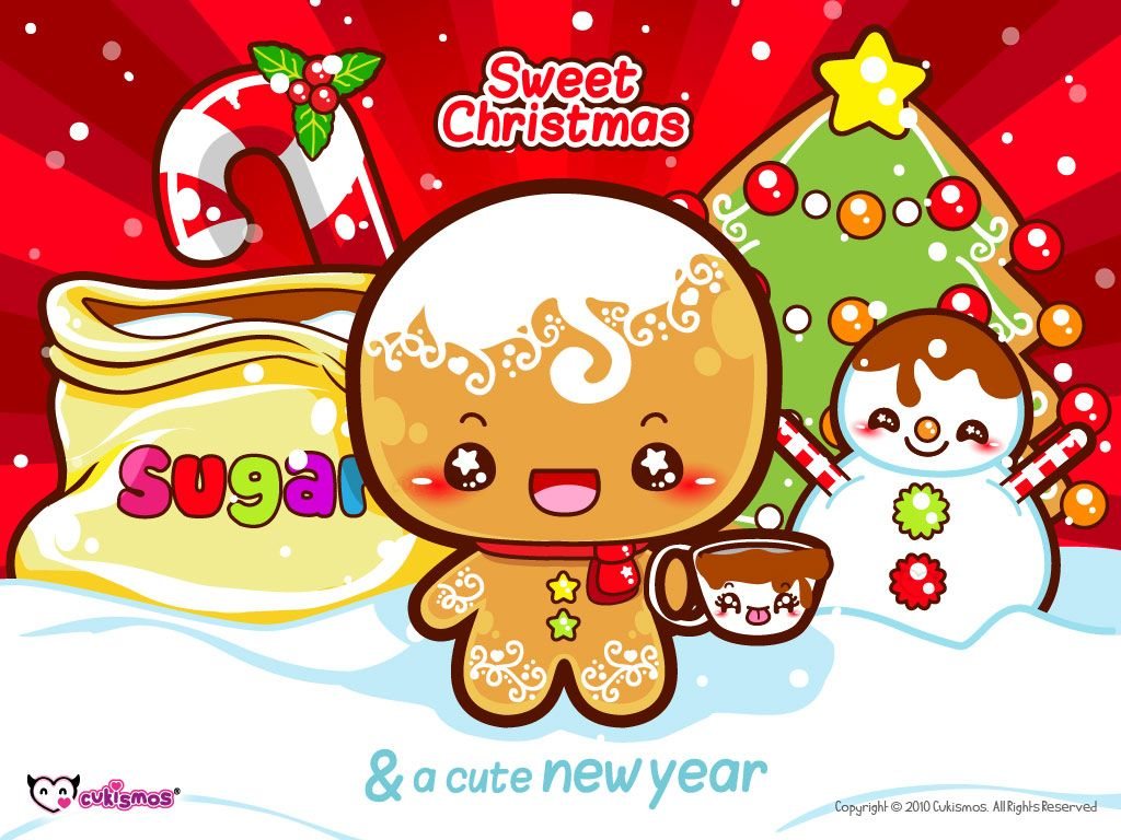 Kawaii Christmas | Kawaii | Pinterest | Christmas gingerbread ...