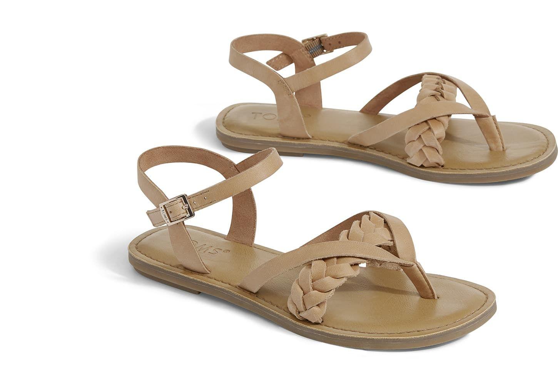 56956921e3fc Honey Leather Women s Lexie Sandals