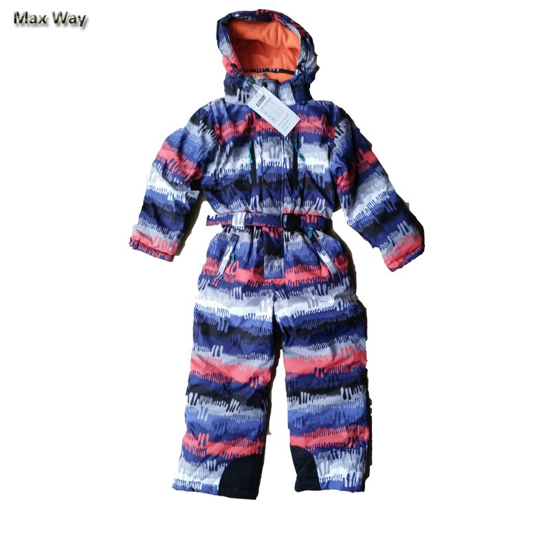 ea4097bd3 3-16Y Winter Children Snow Suits Brand Thicken Warmly Ski Jackets ...