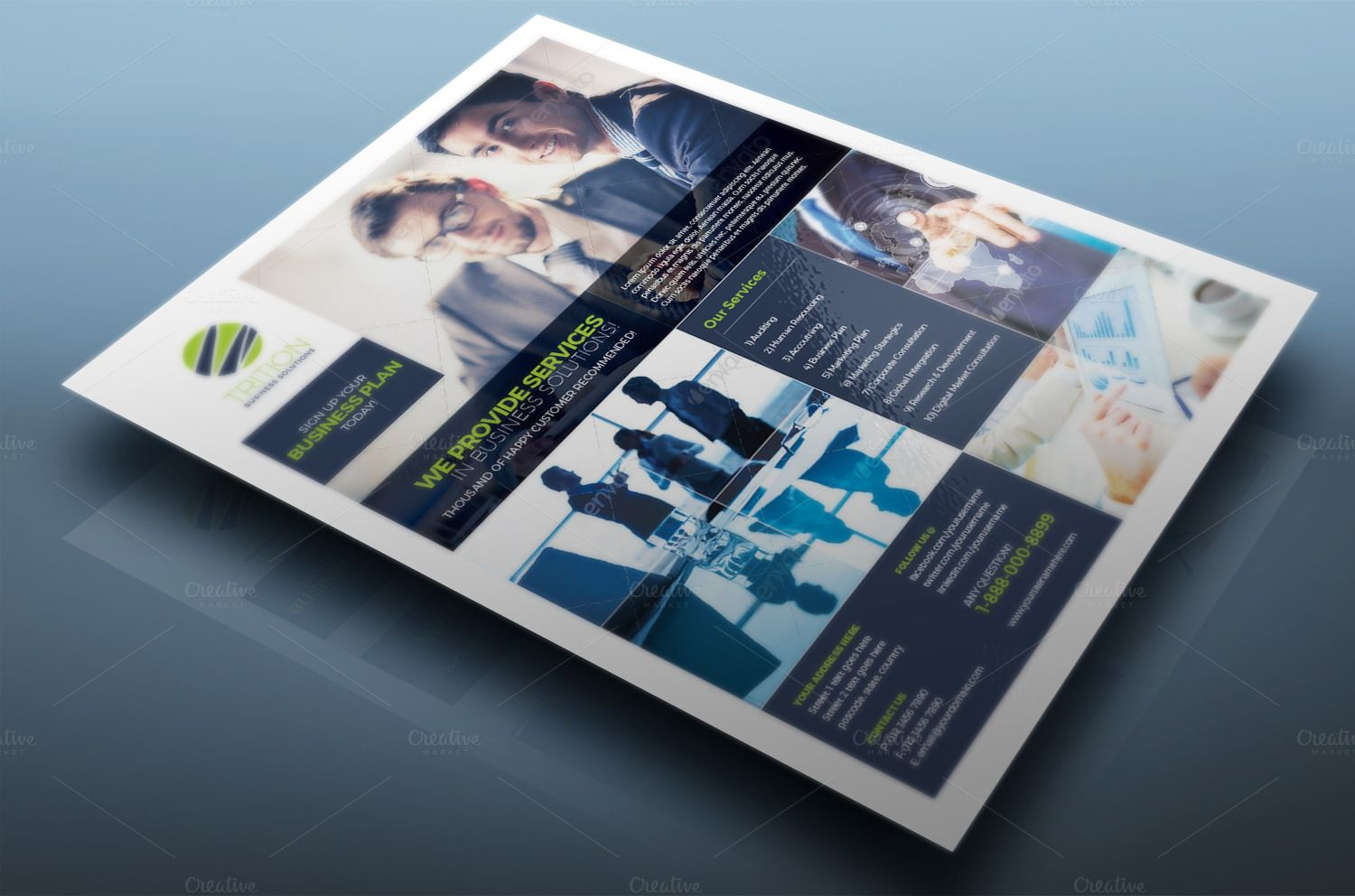 Multipurpose Flyer Vol.06 | Simple, Flyers and Chang'e 3