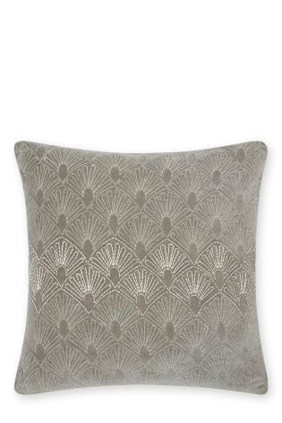 Buy Dove Deco Bead Cushion from the Next UK online shop