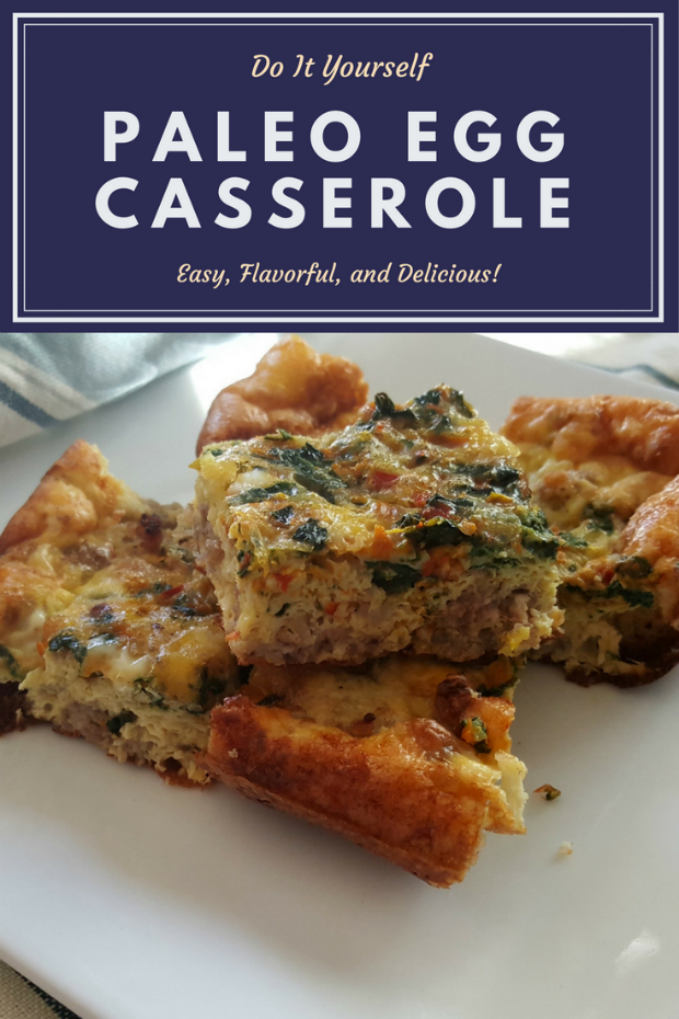 Blog post at perfectly imperfct paleo egg casserole recipe this a paleo egg casserole recipe you will love lots of great flavor created with breakfast sausage fresh spinach and more great vegetables solutioingenieria Image collections