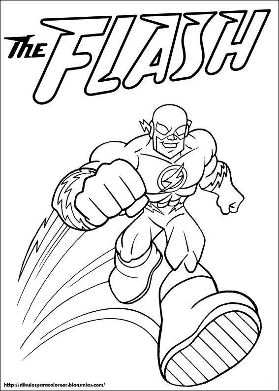 Dc Comics 07 Jpg 567 794 Avec Images Coloriage Anniversaire