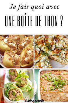 Je fais quoi avec une boîte de thon ? Nos 40 recettes best-of #recettesympa