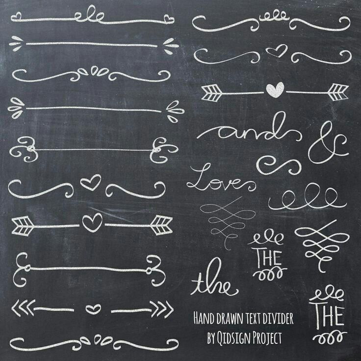chalkboard art fonts