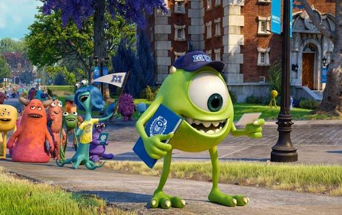 Rapid Fire Movie Reviews Monsters University Man Of Steel Now You See Me Iron Man 3 Hangover 3 Monster University Monsters Inc University Disney Pixar