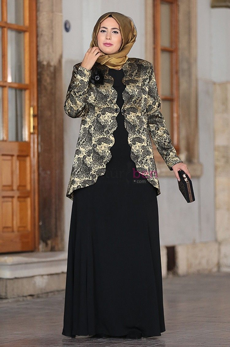 Buyuk Beden Tesettur Abiye Elbise Abaya Tarzi Elbiseler