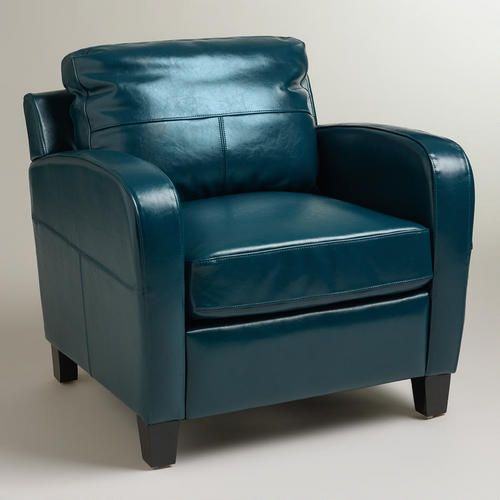 Mallard Bi Cast Leather Mason Chair   $280 @ World Market